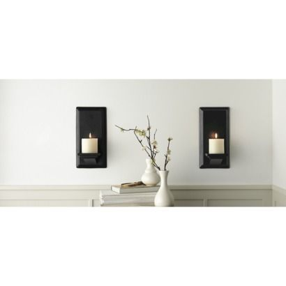 Black Wall Candle Holders best 20+ black candle holders ideas on pinterest | candle