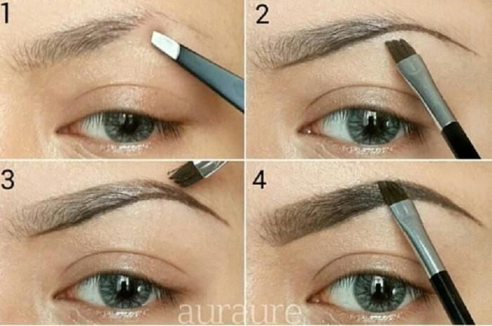 How To Shape Your Eyebrows | Natural Looking Eyebrow ...