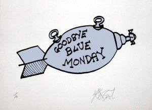 Goodbye Blue Monday! #breakfastofchampions #kurtvonnegut #readbooks