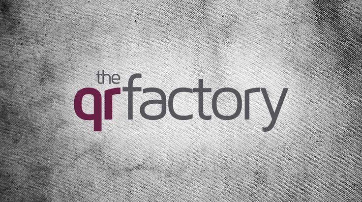 Diseño de logo The QR Factory | Dolphin Tecnologías