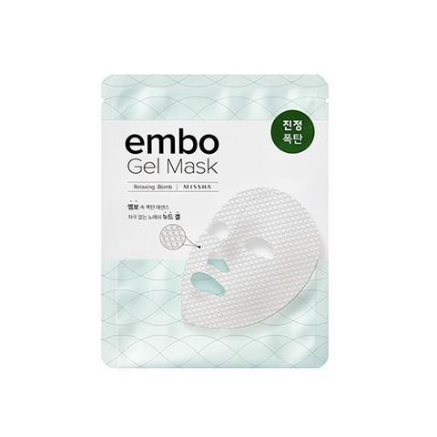 [MISSHA] embo Gel Mask- Relaxing Bomb (5 PCS)