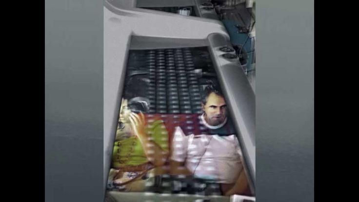 La Mirada Inadvertida Audiovisual Proyectado en la inauguración de la exposición en Ramses, nov 2014