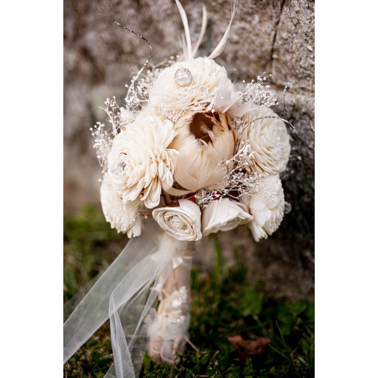 Bride's bouquet - shabby chic