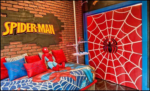 Spiderman Bedroom Decor