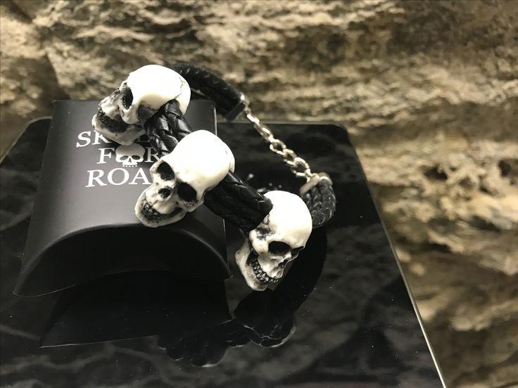 skulls for road 3bracelet