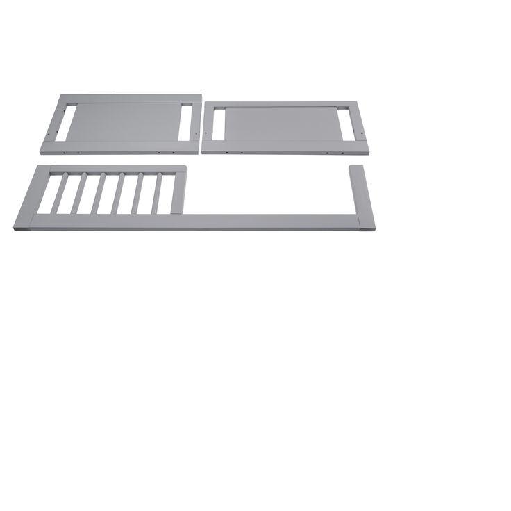Babyletto Junior Bed Crib Conversion Kit - Gray