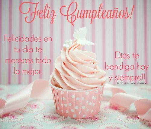 Feliz Cumpleaños! Felicidades en tu día te mereces todo lo mejor. Dios te bendiga hoy y siempre!! @trazosenelcorazon