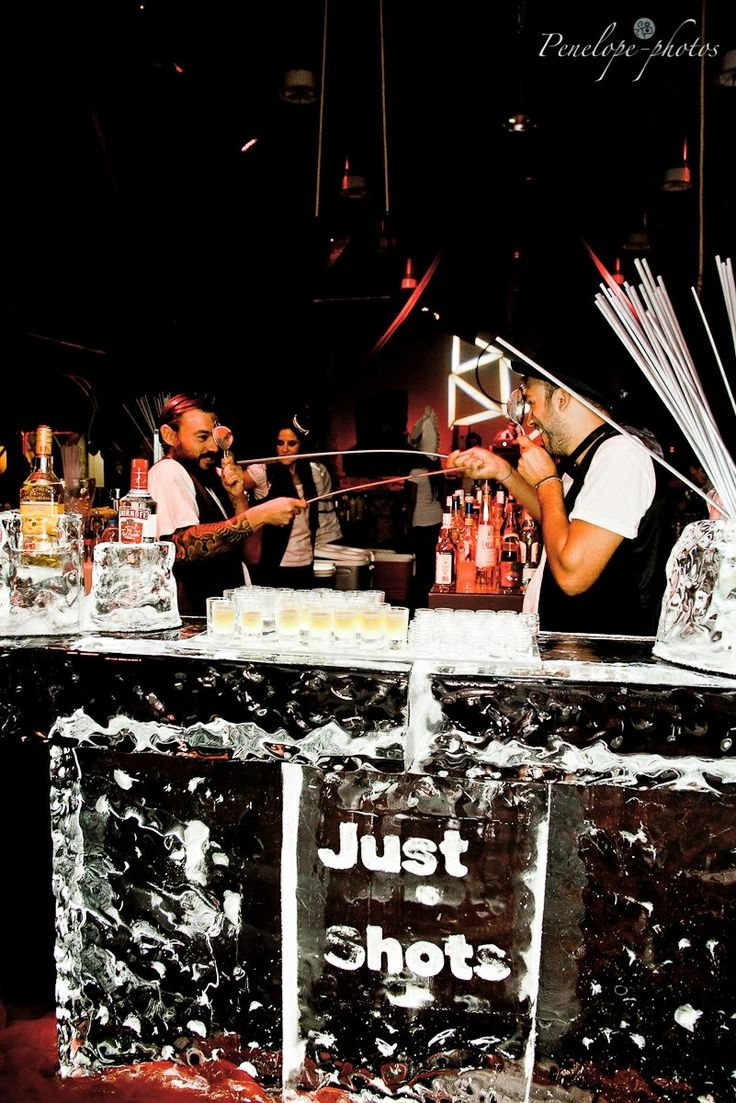 Private birthday  Burlesque theme party Just shots- Ice bar