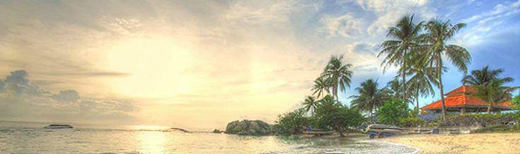 Tour Belitung - Bangka (LONG WEEKEND). Keberangkatan 11 Januari 2013 Rp 3.570.000. Anda akan diajak mengunjungi Pulau Lengkuas, Pulau kepayang, Pulau Batu Belayar, Pulau Pasir, Pulau Burung, Kain Cual Ishadi, dll. Harga sudah termasuk biaya tiket pesawat dari Jakarta, hotel, tour, makan, dll. Info dan pemesanan hubungi 021 500833.