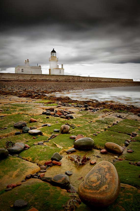 Chanonry Point, just north of Inverness, Scotland.#lighthouse