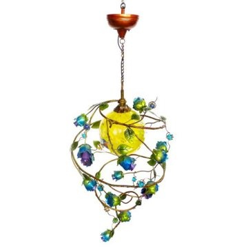 nice looking solar light  a bit pricey id hate for it to fail  but its on my list: Idea, Flower Chandelier, Solar Lights, Dream, Chandeliers, Solar Chandelier, Flowers, Garden, Solar Flower