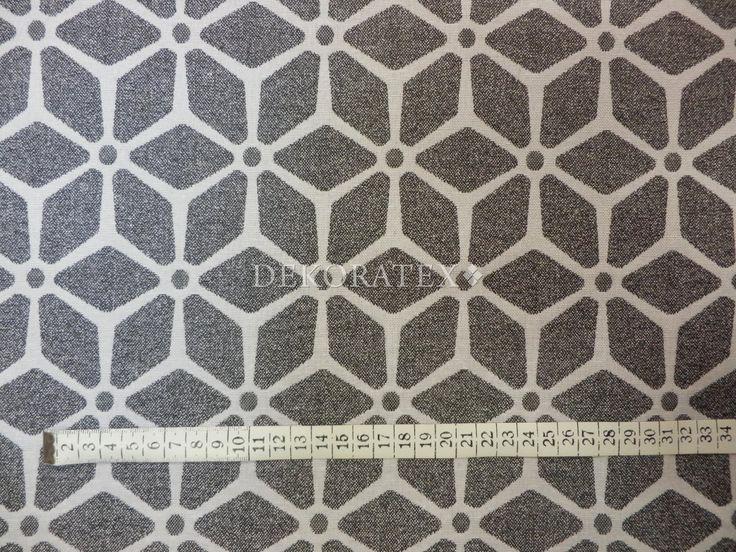 Dekorační látka oboustranná- STUDIO GEO H-06, krychle s puntíky - Šíře: 140cm. Jsme předním dodavatelem bytového textilu, doplňku, kojeneckého zboží atd.