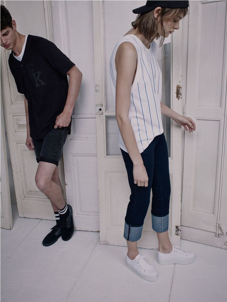 PULL&BEAR BLUE - spring/summer collection