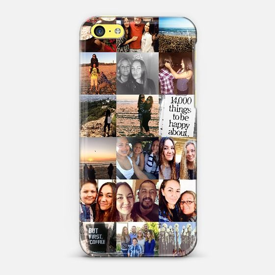@casetify sets your Instagrams free! Get your customize Instagram phone case at casetify.com! #CustomCase Custom Phone Case | iPhone 5c | Casetify  | Adriana Zenon