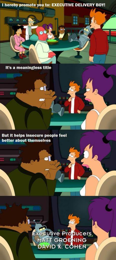 Nicely done Futurama..
