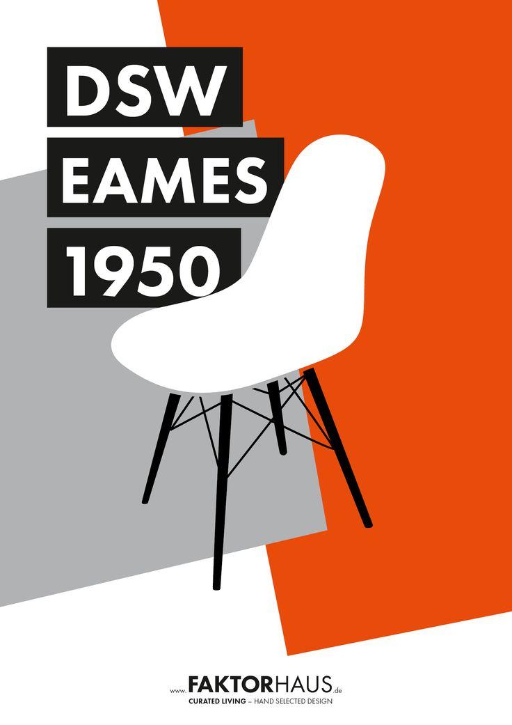 Charles & Ray Eames, DSW, 1950 #eames #midcentury #1950 #vitra #miller #rayandcharleseames #designclassics #interior #home #furniture #plasticsidechair #eamesplasticsidechair #eamesdsw #dsw www.faktorhaus.de