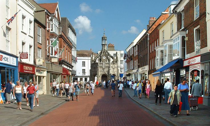 South Street and Market Cross, Chichester, West Sussex