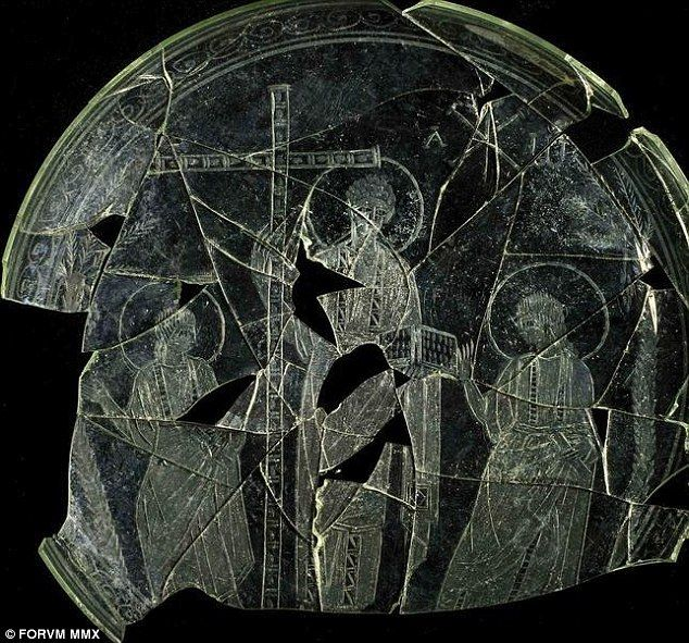 Beardless: An engraving of Jesus believed to be from the 4th Century AD has been discovered, and shows him with short curly hair and no beard, contrary to traditional depictions