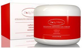 Cellulite Cream with Caffeine and Retinol (0.4%) + 3 types of Seaweed - BEST Natural & Organic Anti-Cellulite Treatment & Body Firming Lotion - 100% Satisfaction Guaranteed! by Body Merry