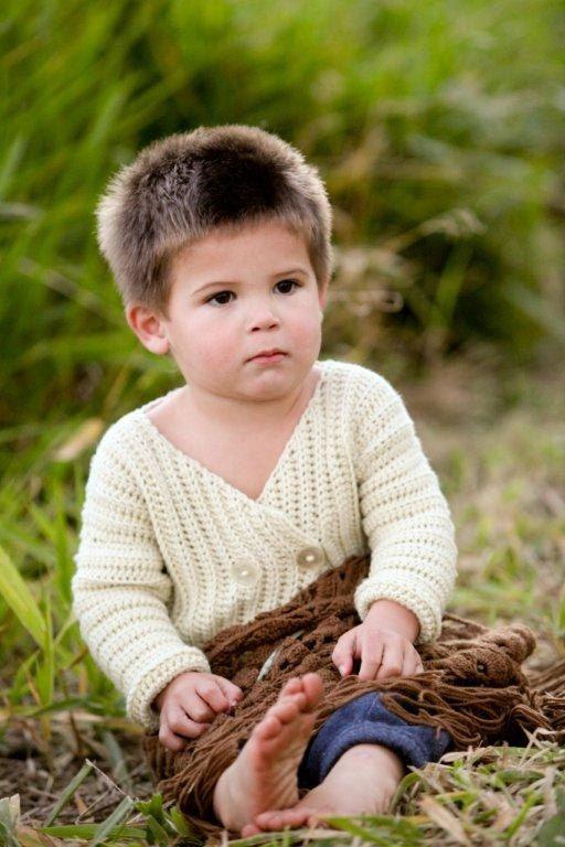 Levi Baby Jacket crochet pattern