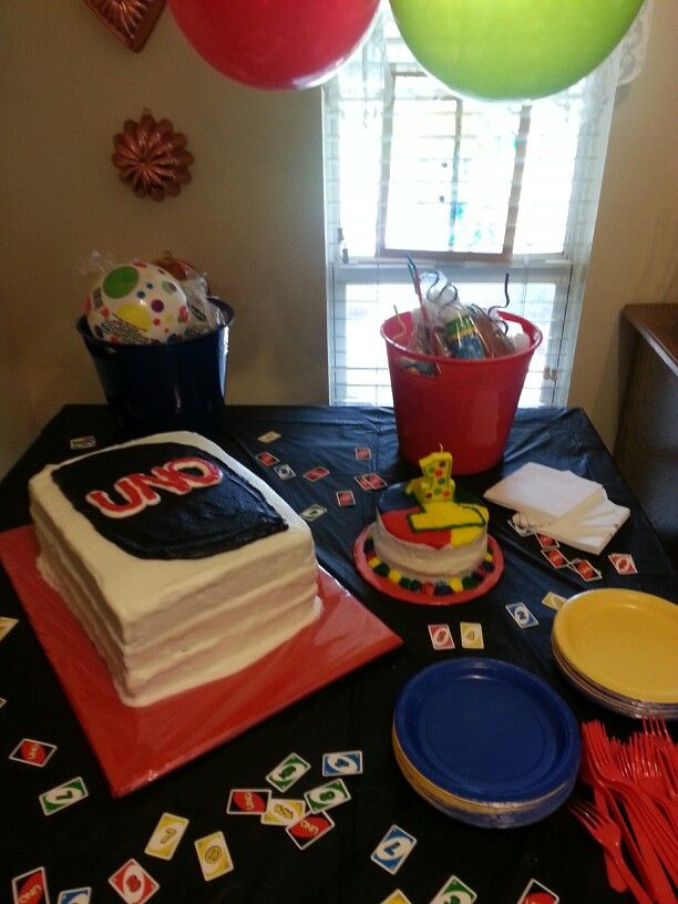 70 Best Uno Themed Birthday Party Ideas Images On