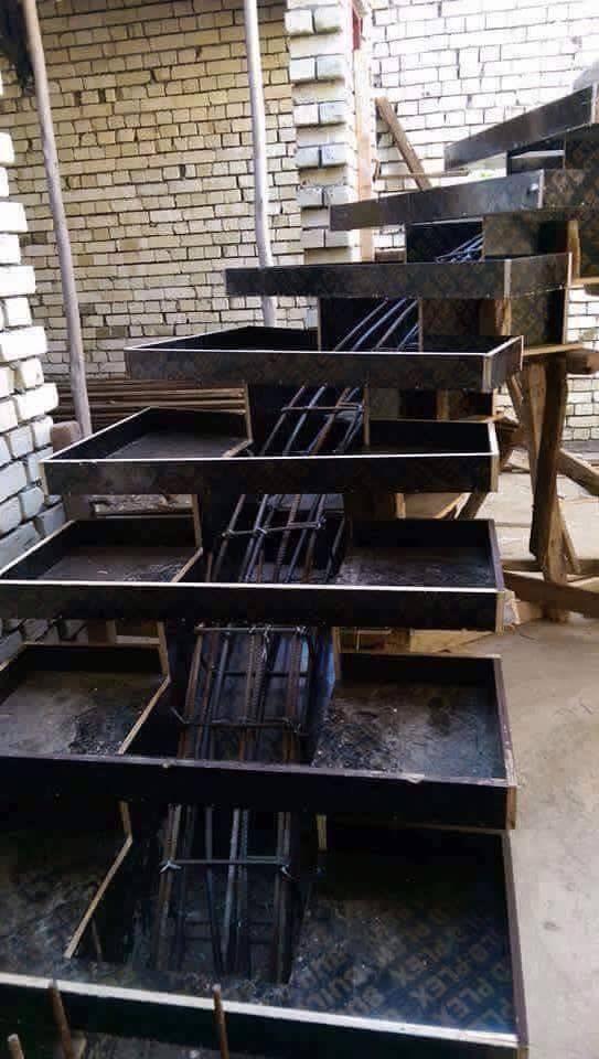 Pin by ea european architecture on 119 ea execution work - Escaleras de hormigon ...