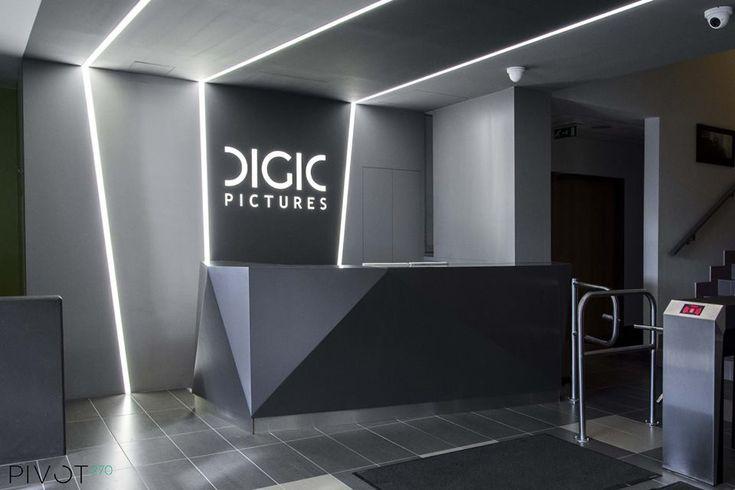 http://www.digicpictures.com/ http://azevirodaja.hu/nevezok/938 További képekért kattints ide /For more pictures click here:  http://pivot270.com/hu/portfolio/digic-pictures-recepcio/ #pivot270 #interior #design #officedesign #office #iroda #decoration #digicpictures