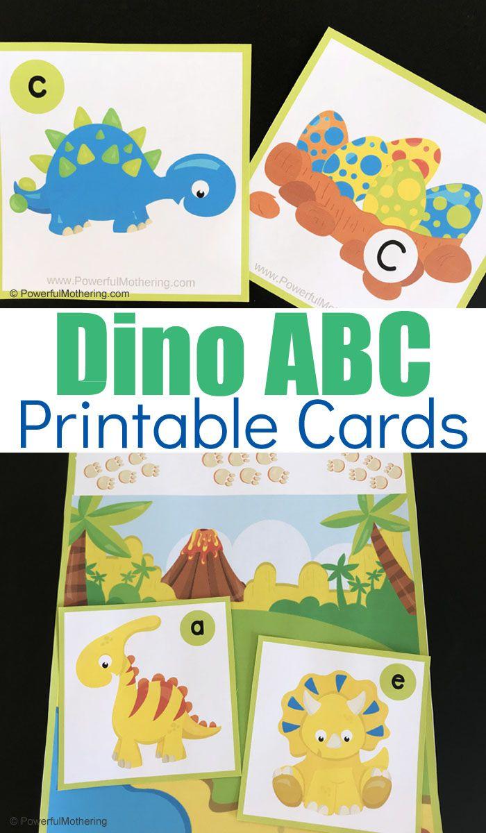 Free Printable Engaging Dinosaur Alphabet Activity Dinosaur Alphabet Alphabet Cards Abc Printable Cards [ 1200 x 700 Pixel ]