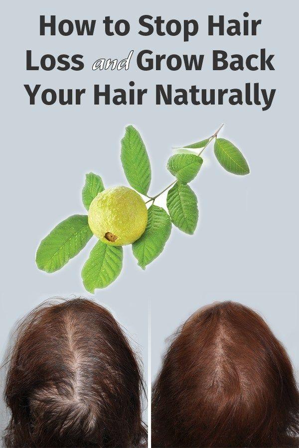 How To Make Scalp Hair Grow Back Naturally