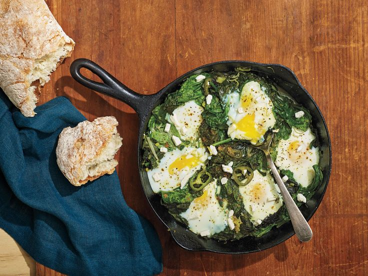 How to make green superfood shakshuka