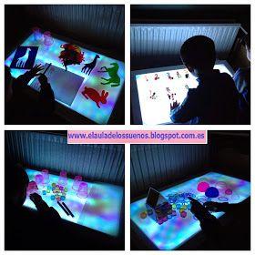 El Aula de los Soles es un espacio libre de fichas y libros de texto donde los niños aprenden de una forma manipulativa, experimentando y jugando .