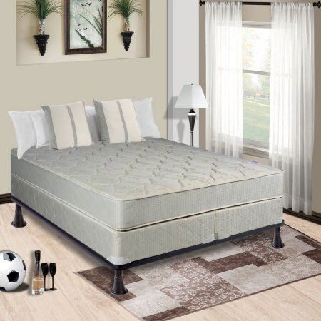 Continental Mattress, 9-Inch Fully Assembled Gentle Firm Orthopedic Back Support Twin XL Mattress and 8-Inch Split Box Spring,Hollywood Collection