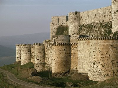 1000+ images about Crusader Castles on Pinterest  Knights ...