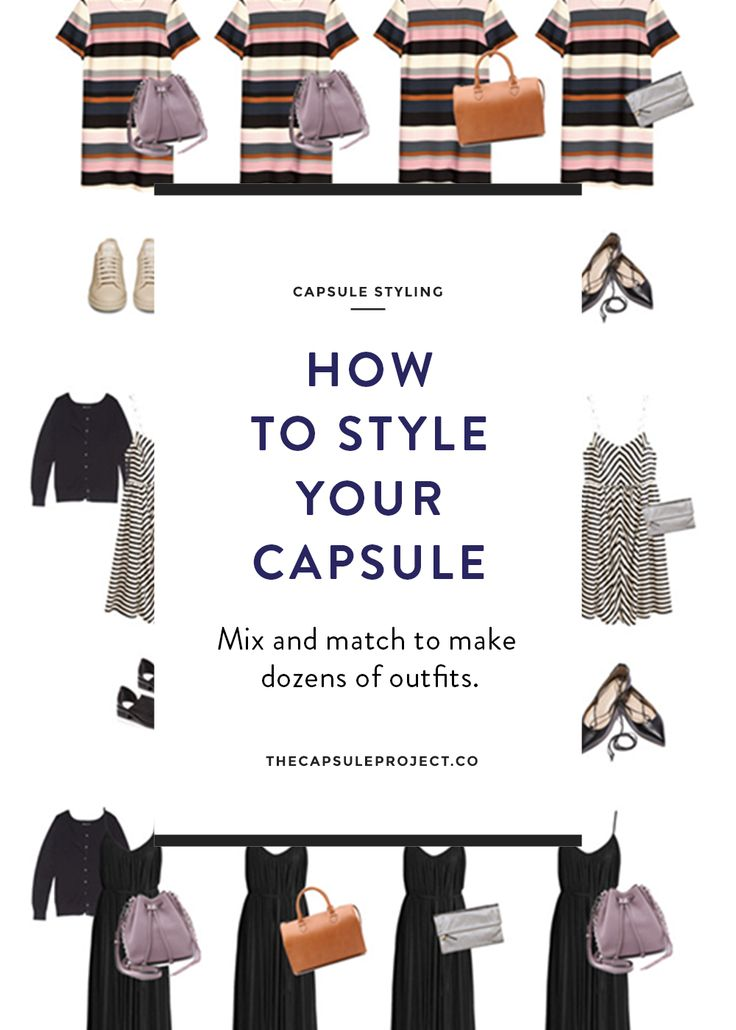 Simple Capsule Outfit Planning