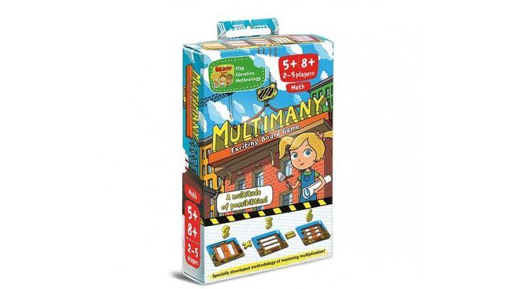 Multimany Szorzótábla tanulás - Játékfarm játékshop