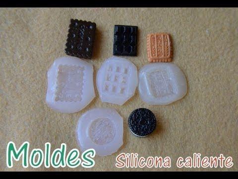 Hola! Os traigo un tutorial para hacer moldes con silicona caliente, os ayudará a realizar figuritas más perfectas con vuestra pasta de modelaje. -Comprar fi...