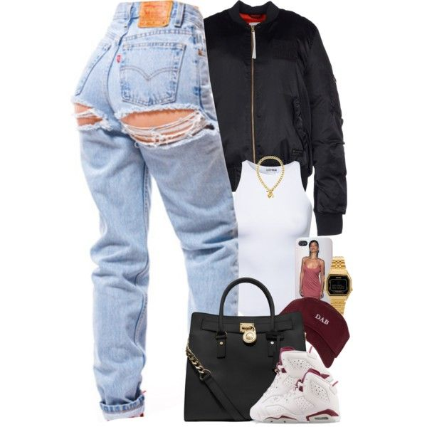 A fashion look from April 2016 featuring adidas Originals jackets, Estradeur and MICHAEL Michael Kors tote bags. Browse and shop related looks.