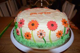 Malin bakes a cake: Blommor