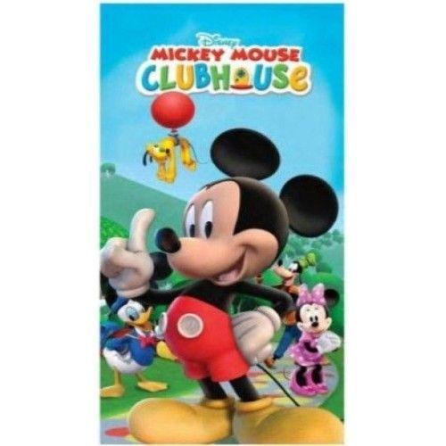 Disney Badlaken Mickey Mouse clubhouse: 75x150 cm