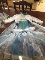 Profumo di casa : costume di Elsa(frozen) fai da te facilissimo!