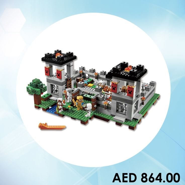 LEGO The Fortress (21127) #Kids #Games #toys #toystore #kidstore #online #shopping #menakart