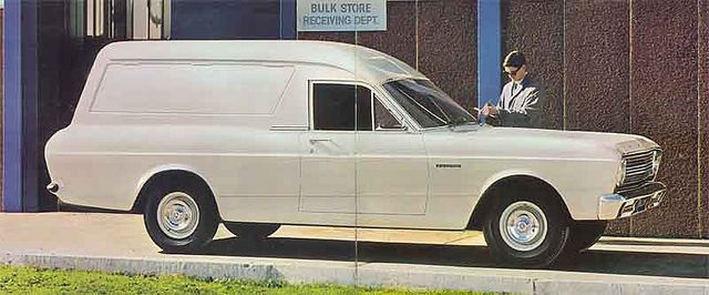 1967 Ford XR Falcon Panel Van Brochure (Australia)