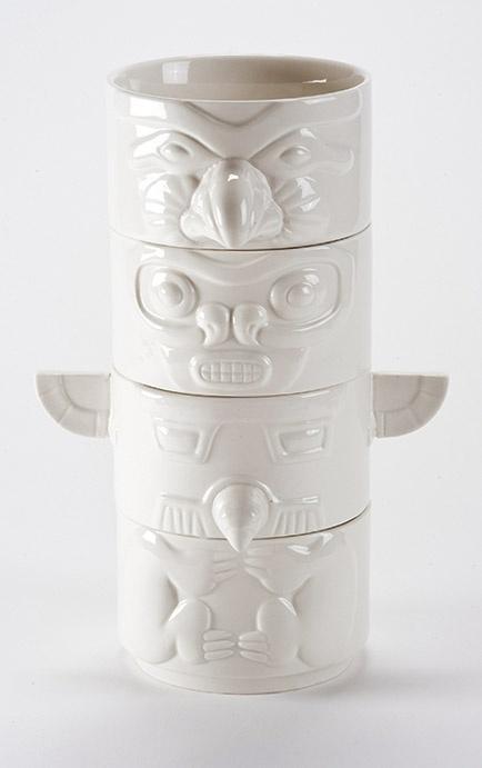 Stacking Totem Bowls