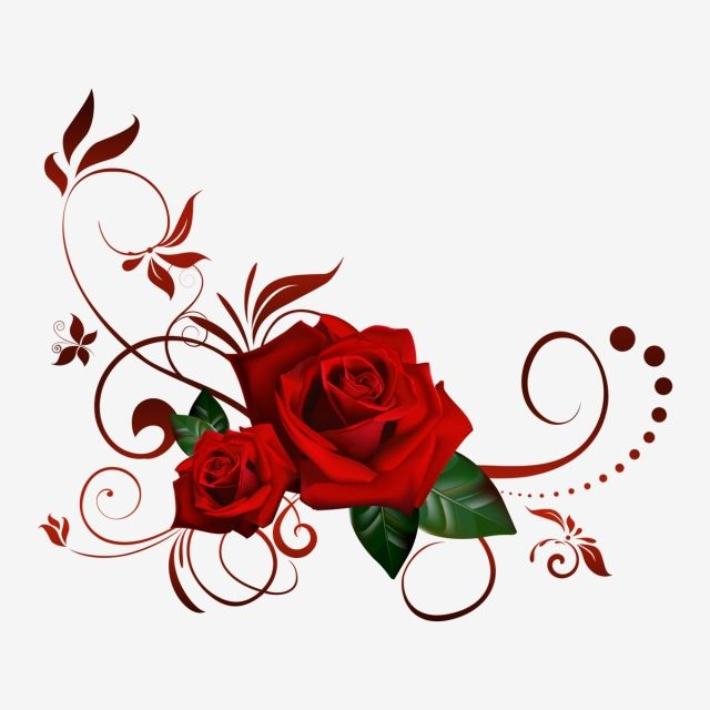 Rosa Roja Diseno De Tatuaje Rosa Tatuajes De Rosas Rojas Papel Pintado Flores