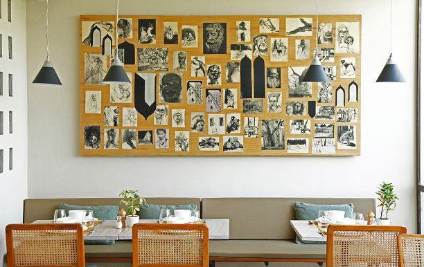 COAST CAFE serveert Zuid-Indiase (Kerala) gerechten in een hele fijne sfeer in één van de leukste wijken van Delhi; Hauz Khas!  H 2, Second Floor & Third Floor, Above Ogaan