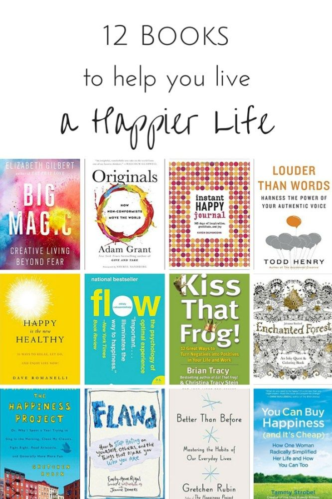 Are you looking to live a happier life? These brilliant books will show you how to slow down, curb the anger, harness your energy, turn those negatives into positives, find gratitude and generally live a more contented life.