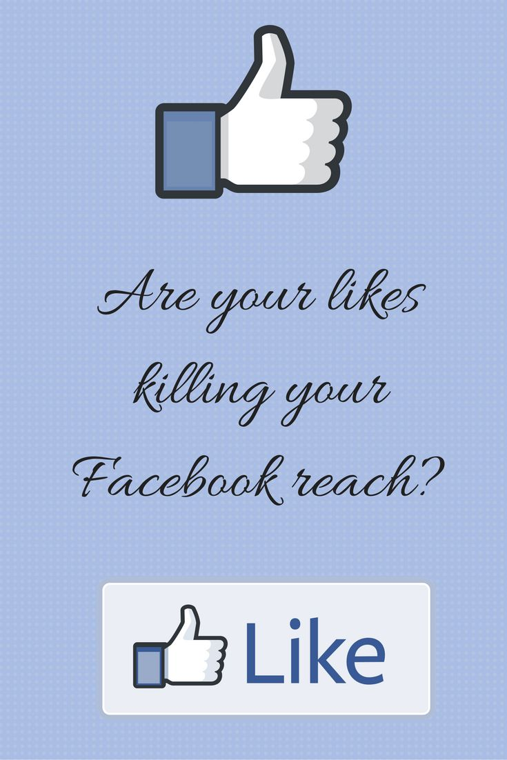 Are your Facebook likes killing your reach? || #smallbusiness #smallbusinesstips #smallbusinessgrowth #socialmedia #socialmediatips #facebooktips #facebooklikes