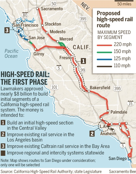 Court To Again Weigh Fate Of California High-Speed Rail Project