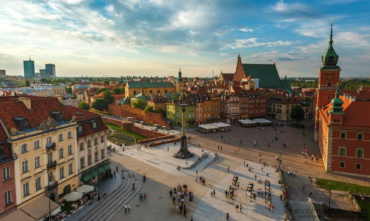 Sunset in Warsaw: http://hdrphotographer.blogspot.com/2014/06/warsaw-old-town-is-new.html
