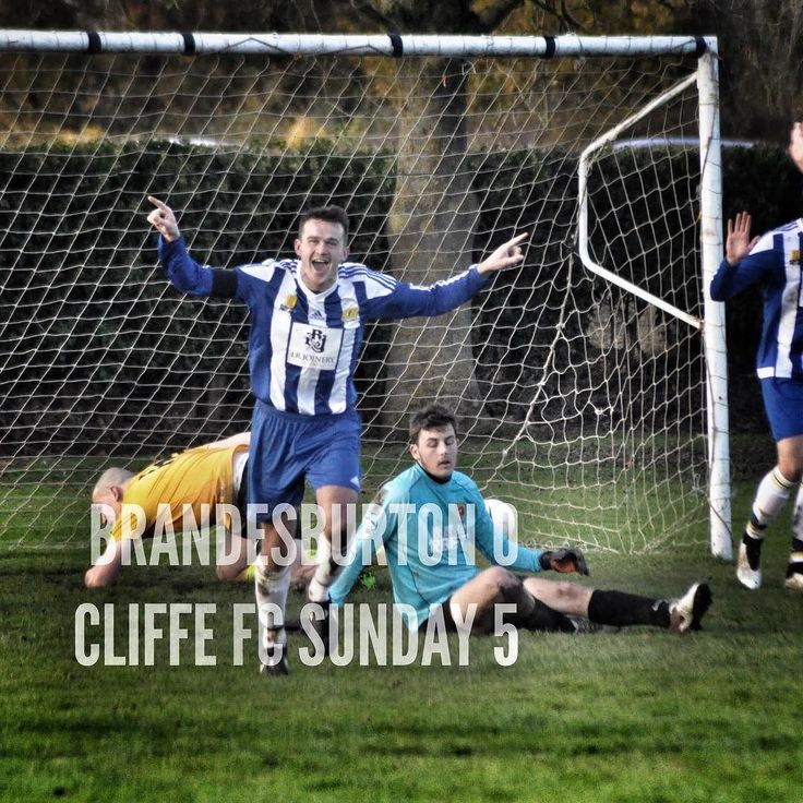 Brandesburton 0 - 5 Cliffe FC Sunday | Goals from Hogg (2) Collins (pen) Dinsdale and G Richardson see Cliffe progress to next round of County Cup in dominant performance. MOTM: Hallam.